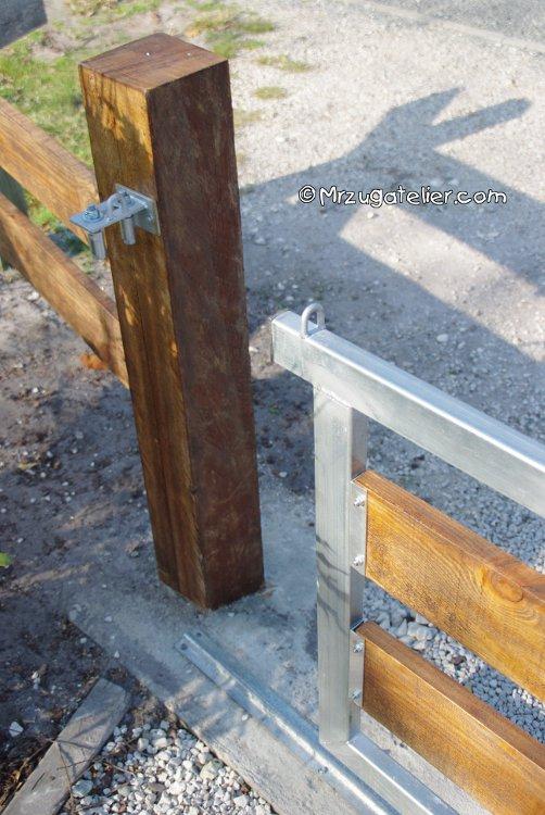 L 39 ensemble des r alisations - Pilier bois pour portail ...